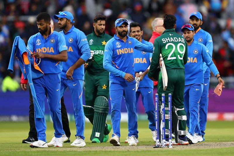 India and Pakistan last played an international match in 2019