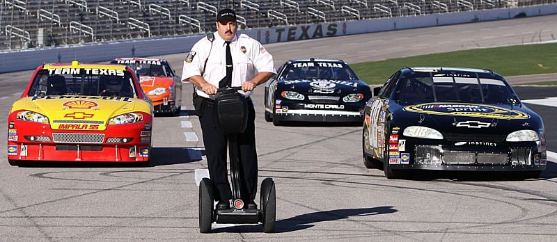 Kevin James at Texas Motor Speedway Photo/Getty Images