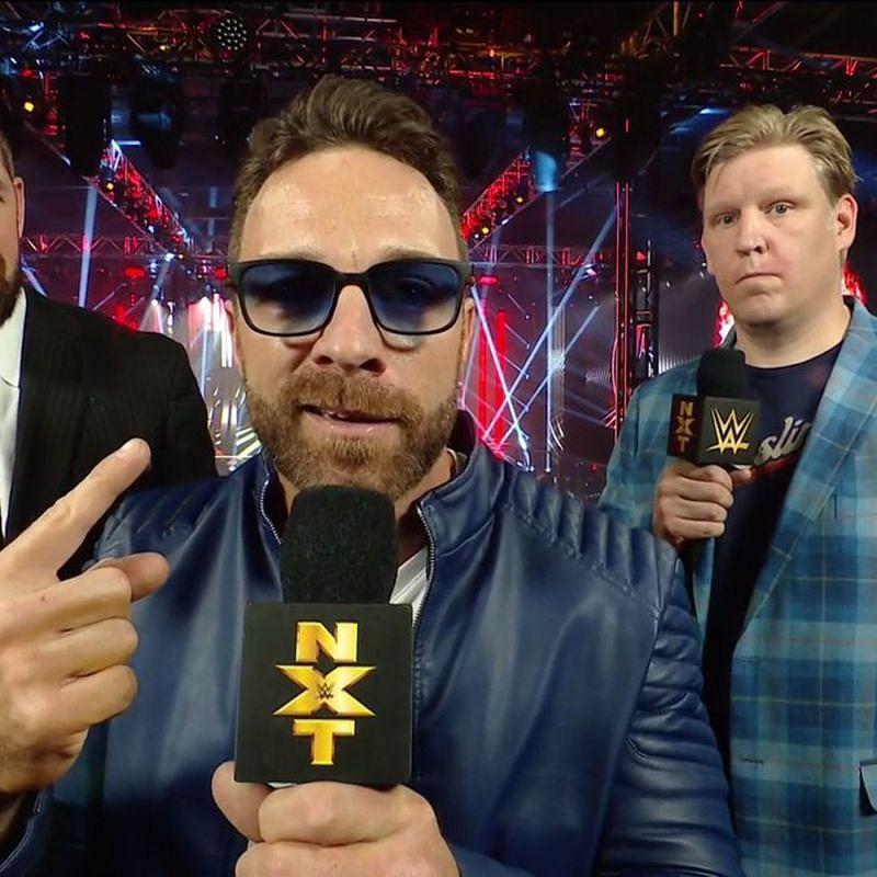 Eli Drake in WWE