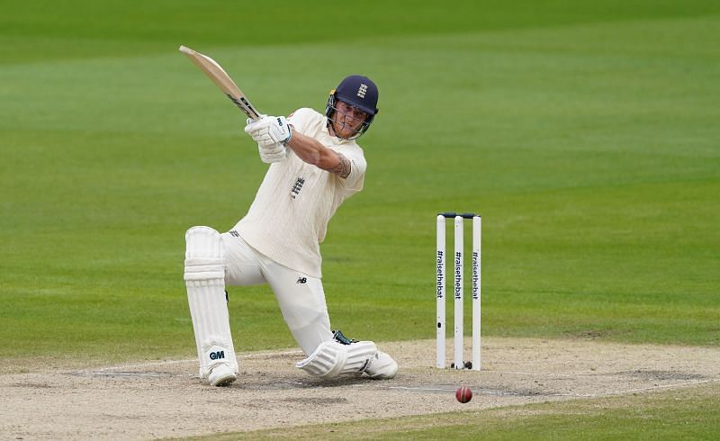 Ben Stokes played an enterprising 82-run knock on the second day of the Chennai Test