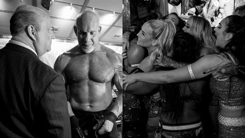 10 Behind the scene photos from WWE Royal Rumble 2021 you need to see - Sportskeeda