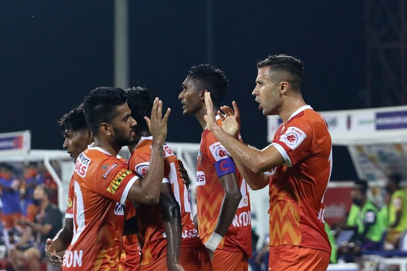 FC Goa showed their strong temperament by nicking a draw in stoppage time once again (Courtesy: ISL)
