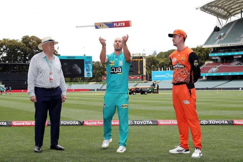 BBL uses bat flip instead of the traditional coin toss.