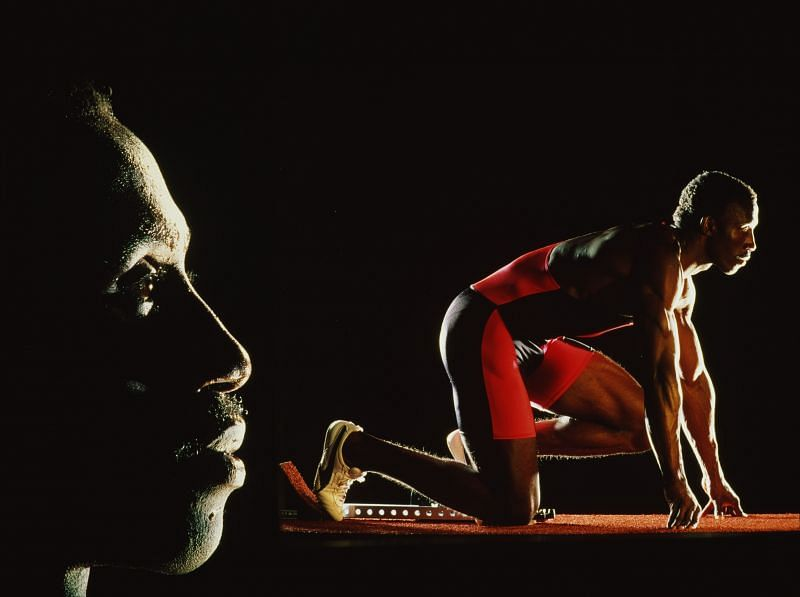 British sprinter Linford Christie