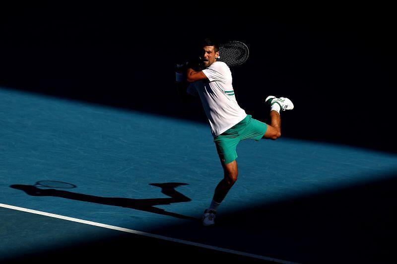 Novak Djokovic is gunning for a ninth Australian Open crown