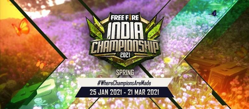 Free Fire India Championship 2021 spring