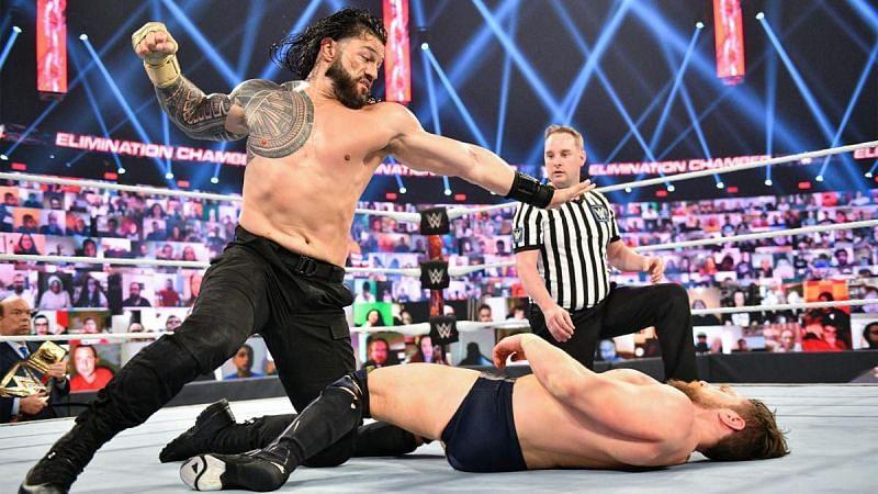 WWE Elimination Chamber में रोमन रेंस की बहुत बड़ी इच्छा हुई पूरी