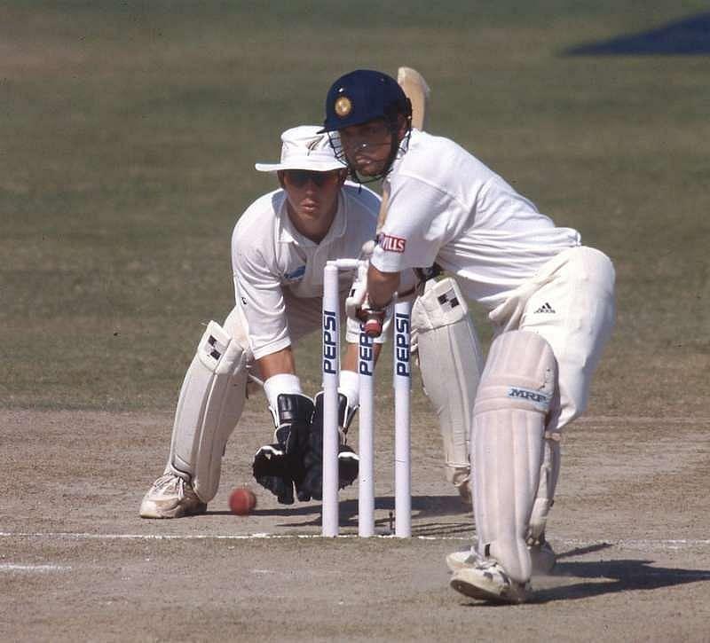 Sachin Tendulkar registered his maiden Test double hundred at the Motera.