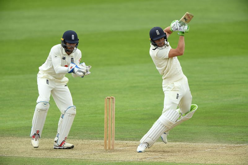 Ben Foakes (wicket-keeper) and Jos Buttler