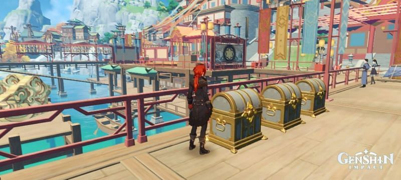 3 obtainable Luxurious chests in Liyue Harbor during Lantern Rite