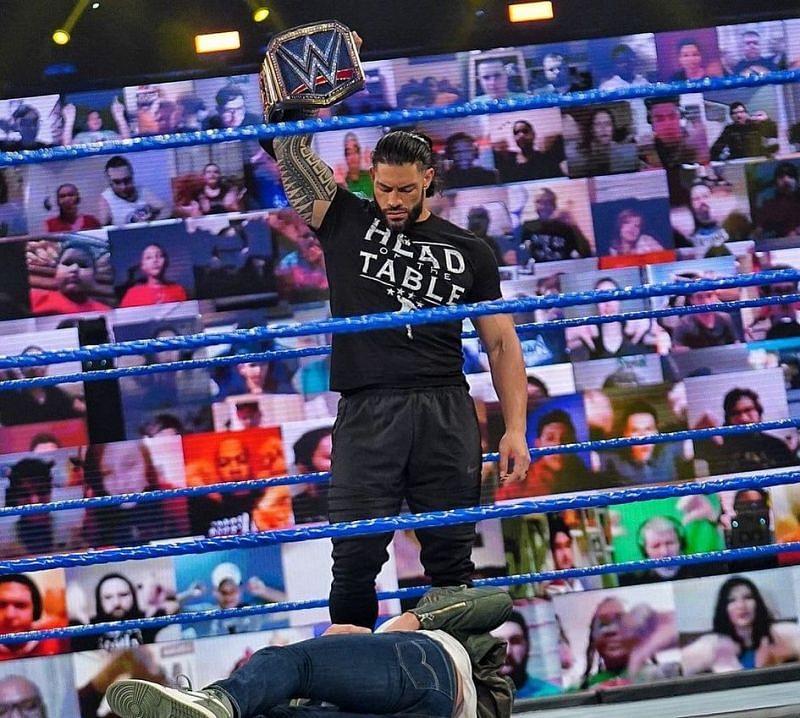 WWE Elimination Chamber से पहले हुआ SmackDown का एपिसोड काफी ज्यादा जबरदस्त रहा
