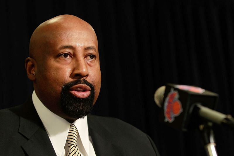 Mike Woodson during his days as the New York Knicks