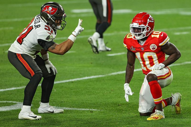 The Kansas City Chiefs were outplayed in Super Bowl LV