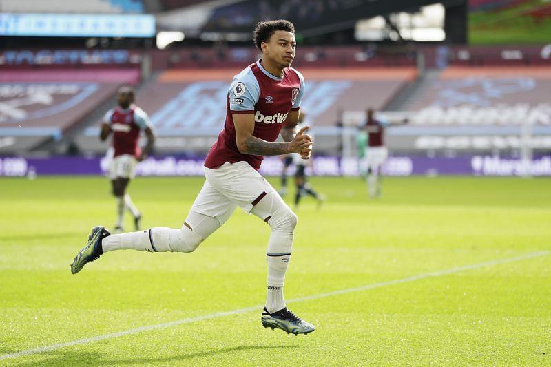 Jesse Lingard has impressed for West Ham United