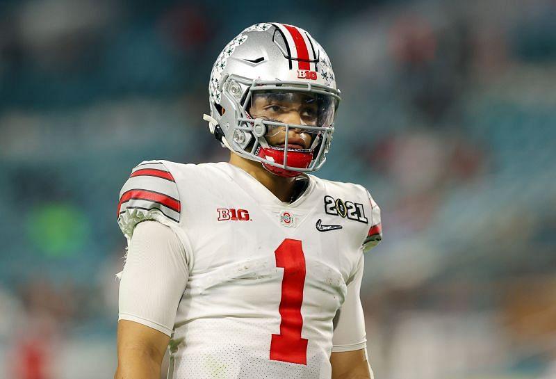 Ohio State QB Justin Fields