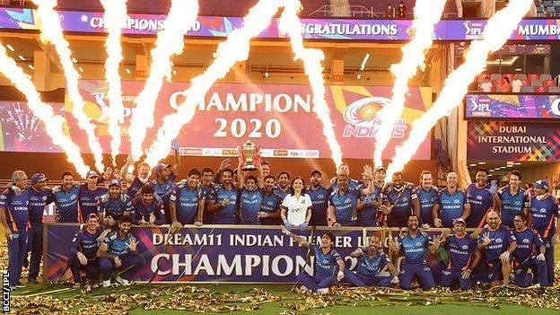 The Mumbai Indians have won a record five IPL titles