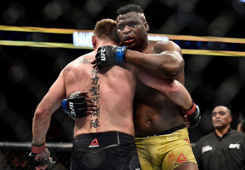 Francis Ngannou learned a lot from his loss to Stipe Miocic