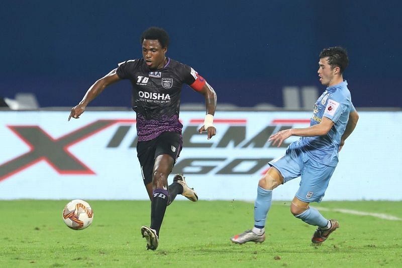Odisha FC suffered a 6-1 defeat to Mumbai City FC in their previous fixture. (Image courtesy: ISL)