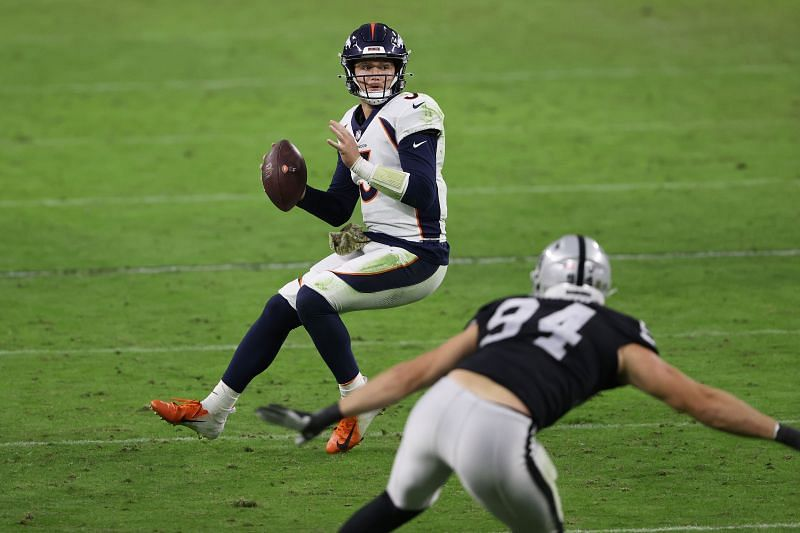 Denver Broncos QB Drew Lock could be available this off-season