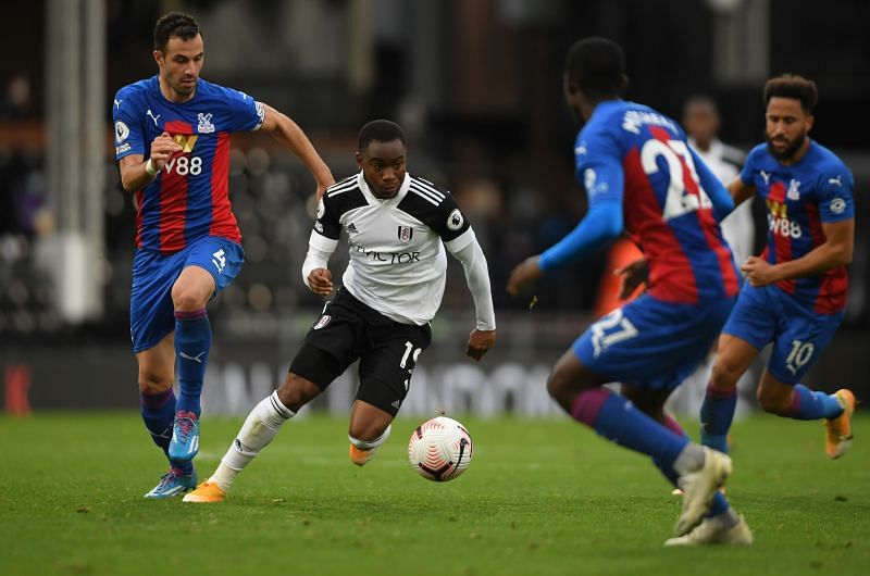 Crystal Palace beat Fulham 2-1 earlier this season