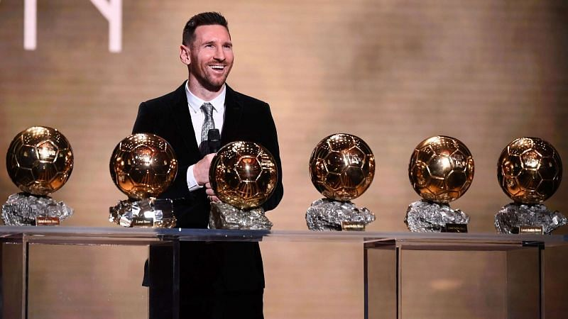 Lionel Messi has won a record six Ballon d