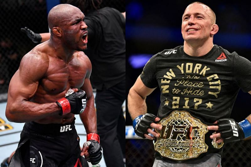 What does Kamaru Usman have to do to step out of GSP