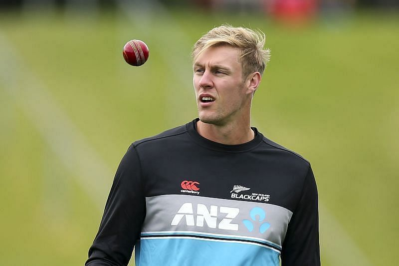 Kyle Jamieson looked off-color in the first T20I.