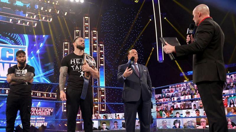 WWE SmackDown के एपिसोड में काफी कुछ देखने को मिला