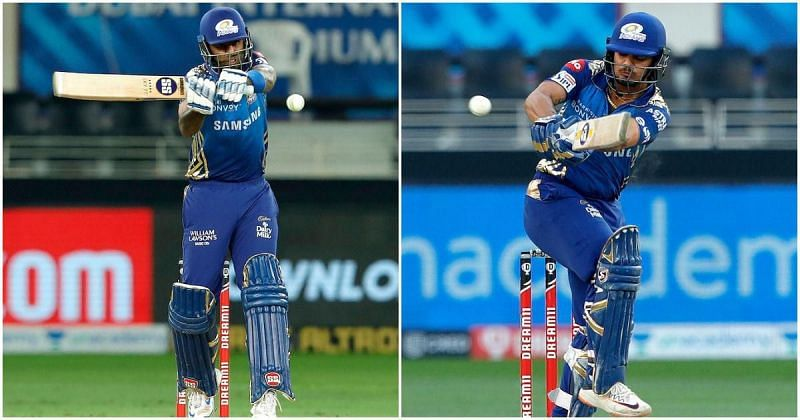 Suryakumar Yadav and Ishan Kishan of the Mumbai Indians have been called up to India