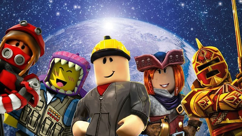 Avatars from the Roblox Universe. (Image via blog.roblox.com)