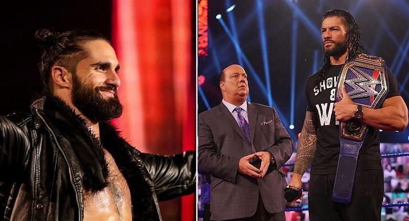 रोमन रेंस(Roman Reigns) और सैथ रॉलिंस(Seth Rollins)