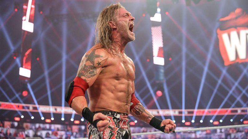2021 Royal Rumble विजेता ऐज