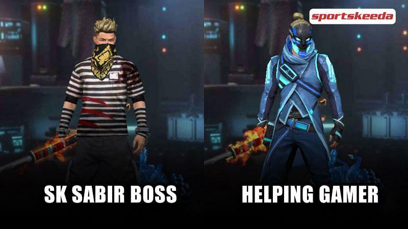 SK Sabir Boss vs Helping Gamer