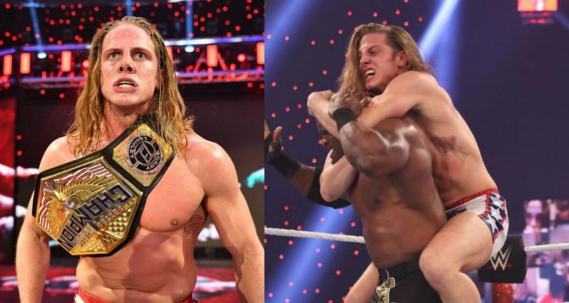 Riddle; Riddle puts Bobby Lashley in a sleeper hold