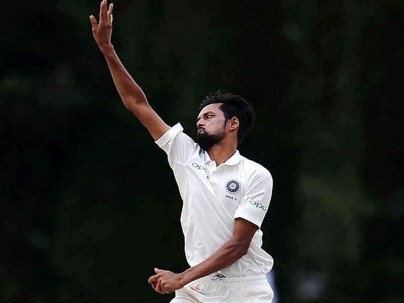 Shahbaz Nadeem went wicketless on the first day of the Chennai Test.