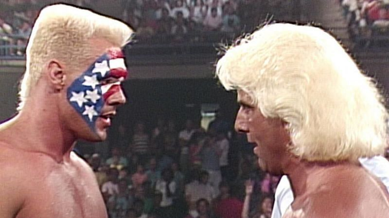 Sting defeated Ric Flair