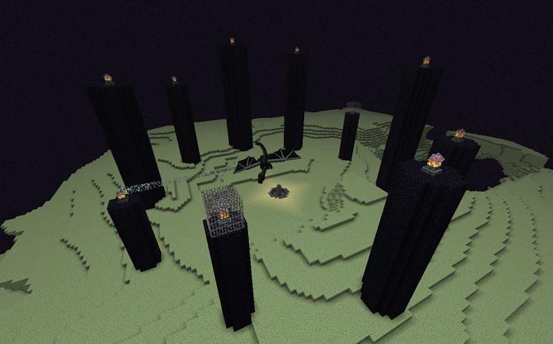 The End (Image via Mojang Studios)