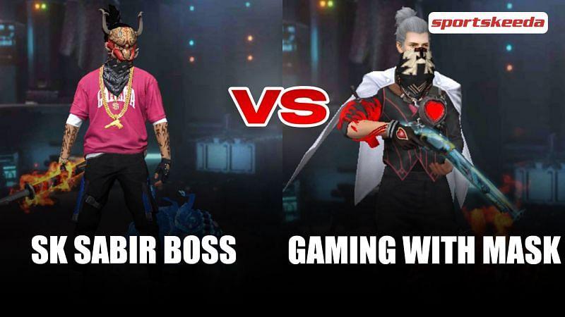 SK Sabir Boss vs. Gaming With Mask