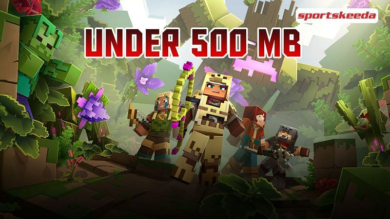 Android games like Minecraft under 500 MB