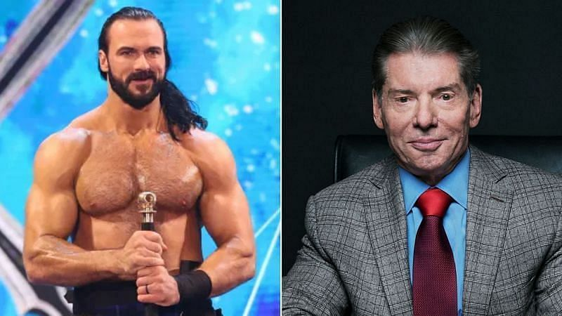 Drew McIntyre considers Vince McMahon as a father figure