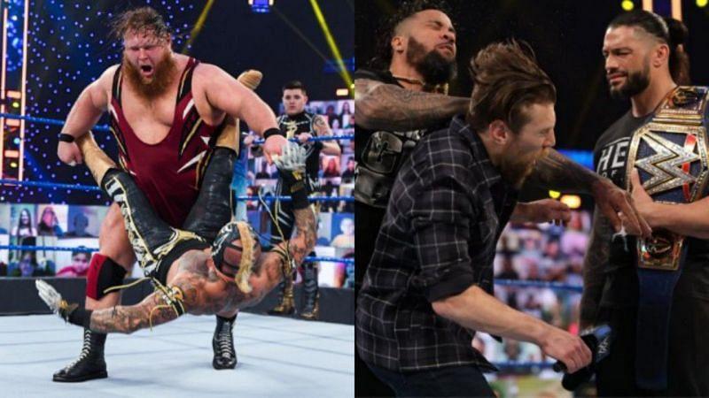 रोमन रेंस, जे उसो और डेनियल ब्रायन ने इस हफ्ते SmackDown में जबरदस्त प्रदर्शन किया