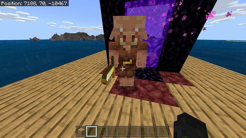 Spawning a Zombie pigman