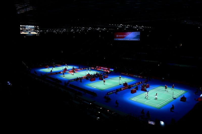 Badminton at the Olympics (Source: Getty Images)