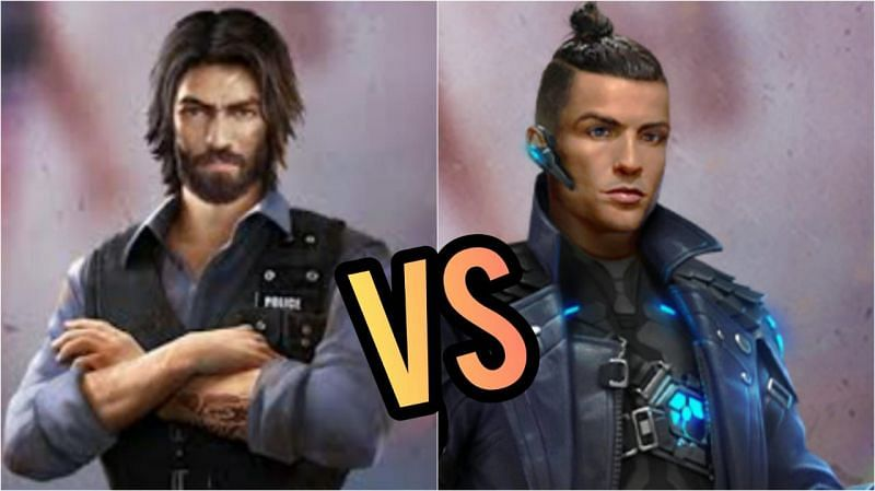 Comparing two characters for a specific game mode (Image via Sportskeeda)
