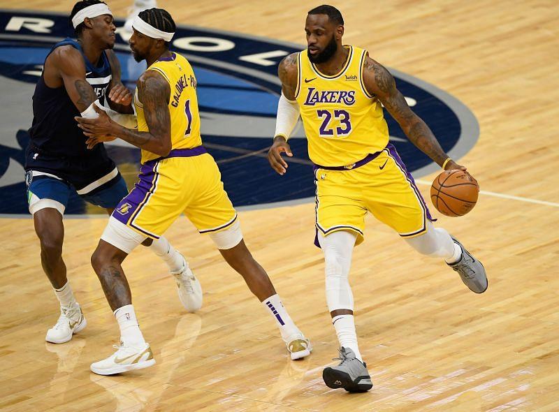LeBron James could miss the LA Lakers