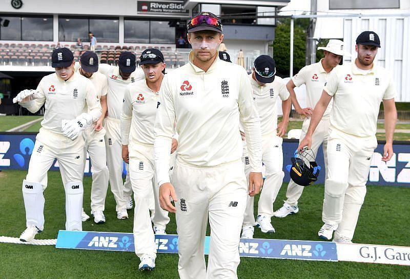 England team led by Joe Root