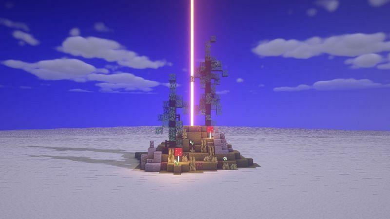 A creative way to use a Beacon (Image via Clowdley on Reddit)