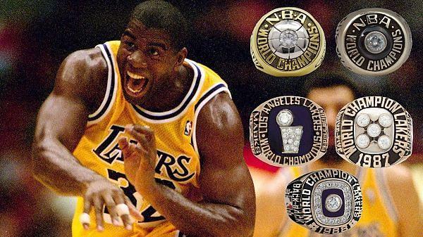 Magic Johnson rings
