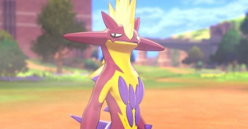 Shiny Toxtricity (Image via The Pokemon Company)