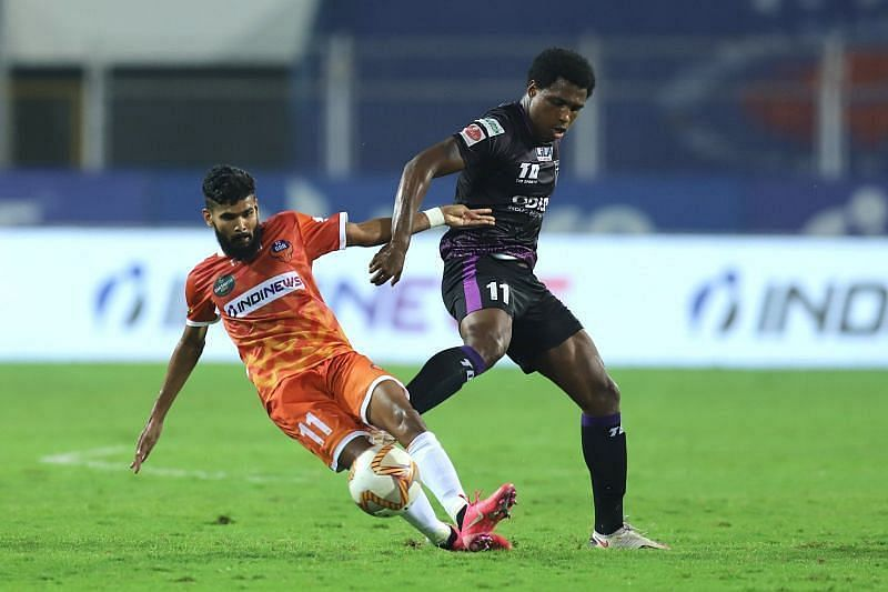 Diego Mauricio is the top scoring player for Odisha FC this season (Courtesy - ISL)